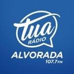 Logo da emissora Rádio Tua Alvorada 107.7 FM