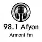 Logo da emissora Radio Armoni 98.1 FM