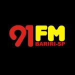 Logo da emissora Rádio 91 FM Bariri