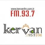 Logo da emissora Radio Kervan 93.7 FM