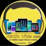 Logo da emissora Rádio Vida Web Coroados