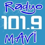 Logo da emissora Radio Mavi 101.9 FM