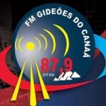 Logo da emissora Rádio Gideões do Canaã FM