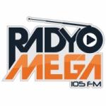 Logo da emissora Radio Mega 105.0 FM