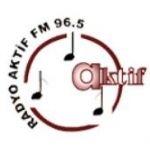 Logo da emissora Mersin Aktif Radyo 96.5 FM