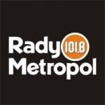 Logo da emissora Radio Metropol 101.8 FM