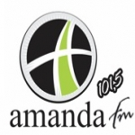 Logo da emissora Rádio Amanda 94.9 FM