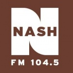 Logo da emissora Radio WKAK 104.5 FM