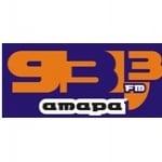Logo da emissora Rádio Amapá FM 93.3