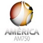 Logo da emissora Rádio América 750 AM