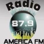 Logo da emissora Rádio América 87.9 FM