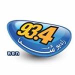 Logo da emissora Radio Shoma 93.4 FM