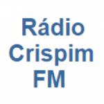 Logo da emissora Rádio Crispim FM