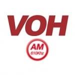 Logo da emissora Radio VOH 610 AM