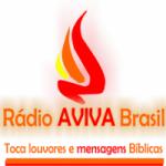 Logo da emissora Rádio Aviva Brasil
