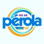 Logo da emissora Rádio Pérola FM