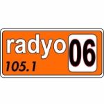 Logo da emissora Radio 06 105.1 FM