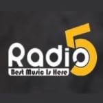 Logo da emissora Radio 5 FM 94.7