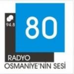 Logo da emissora Radio 80 94.8 FM