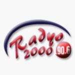 Logo da emissora Radyo 2000 90.6 FM