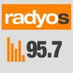 Logo da emissora Radyo S 95.7 FM