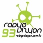 Logo da emissora Radyo Vizyon 93.1 FM