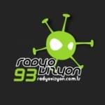 Logo da emissora Radio Vizyon 93.0 FM