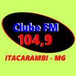 Logo da emissora Rádio Clube FM Itacarambi