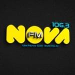 Logo da emissora Rádio Nova 106.3 FM