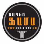 Logo da emissora Radio Fama 107.6 FM