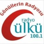 Logo da emissora Ulku 100.1 FM