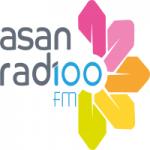 Logo da emissora Asan Radio 100.0 FM