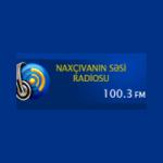 Logo da emissora Naxcivanin Sesi Radio 100.3 FM