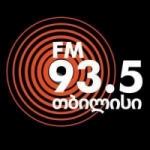 Logo da emissora Radio Tbilisi 93.5 FM