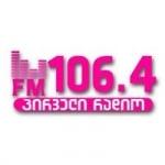 Logo da emissora Radio Pirvelir 106.4 FM