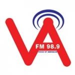 Logo da emissora Radio Voice of Abkhazia 98.9 FM