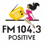 Logo da emissora Radio Positive 104.3 FM