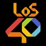 Logo da emissora Radio Los 40 91.7 FM