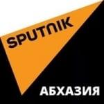 Logo da emissora Radio Sputnik Abkhazia