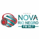 Logo da emissora Rádio Nova Rio Negro 90.7 FM