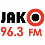 Logo da emissora Radio Jako 96.3 FM