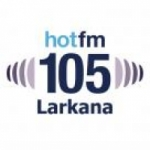 Logo da emissora Radio Hot 105.0 FM