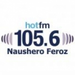 Logo da emissora Radio Hot 105.6 FM