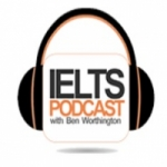 Logo da emissora IELTS Podcast