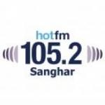 Logo da emissora Radio Hot 105.2 FM