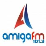 Logo da emissora Rádio Amiga 101.3 FM