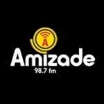 Logo da emissora Rádio Amizade 98.7 FM