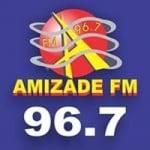 Logo da emissora Rádio Amizade 96.7 FM