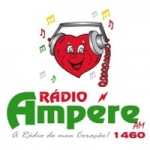 Logo da emissora Rádio Ampére 1460 AM