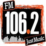 Logo da emissora Radio Just Music 106.2 FM